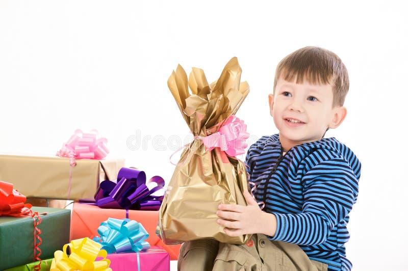 Surprised boy stock image