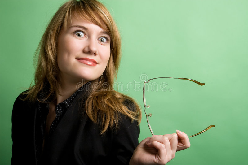 Download Surprised businesswoman stock image. Image of businesswoman - 6005879