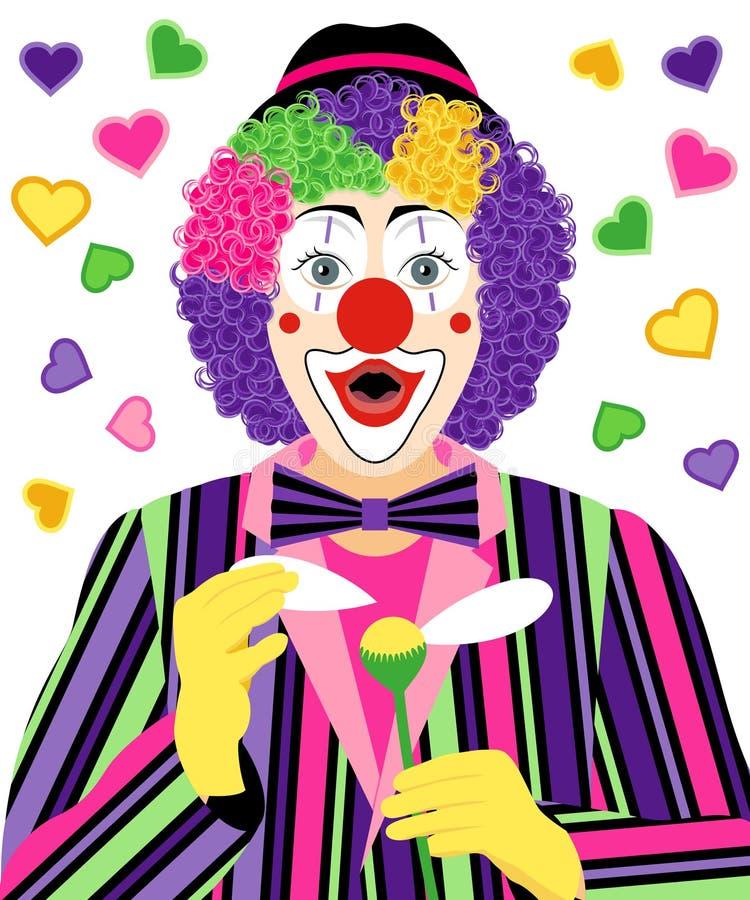 Free Surprised Clown Royalty Free Stock Image - 66676006