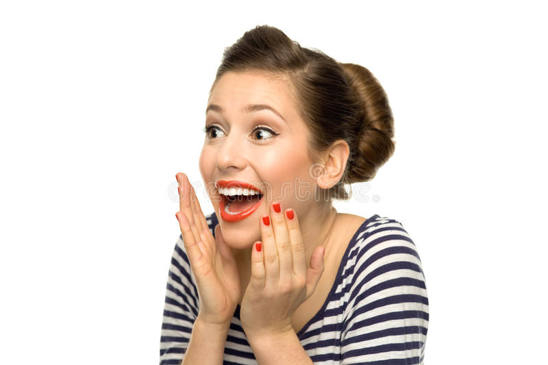 Download Surprised Girl Royalty Free Stock Images - Image: 22159469