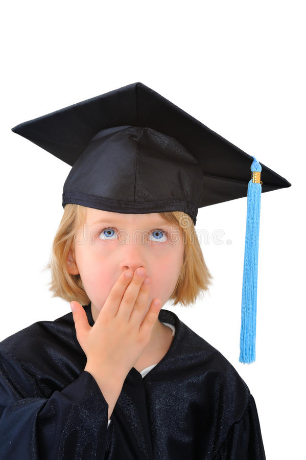 Download Surprised graduate student stock image. Image of face - 18069499