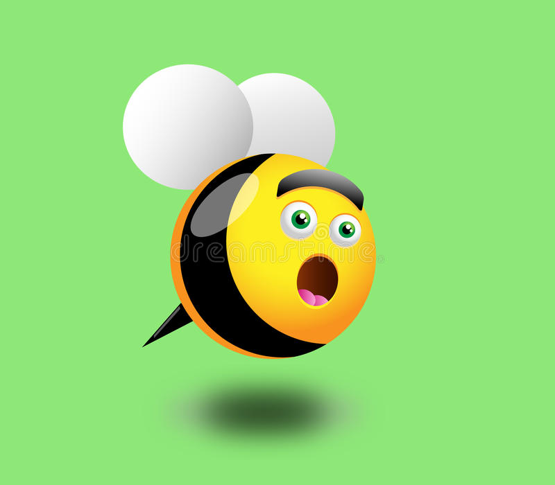 Download Surprised Honey Bee Royalty Free Stock Photography - Image: 17341007