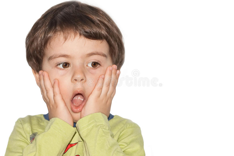 Download Surprised little boy stock photo. Image of relaxation - 17797854