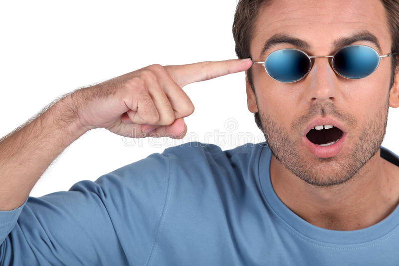 Download Surprised man stock image. Image of delirious, freak - 23293213