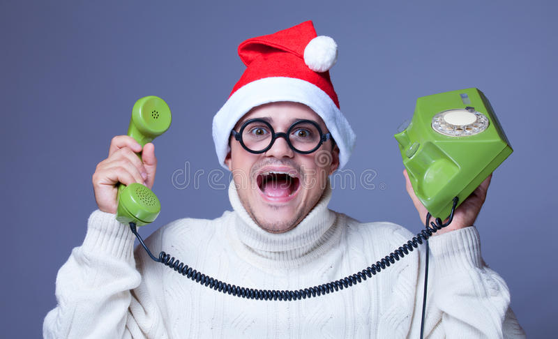 Download Surprised man with phone stock image. Image of anniversary - 33604439