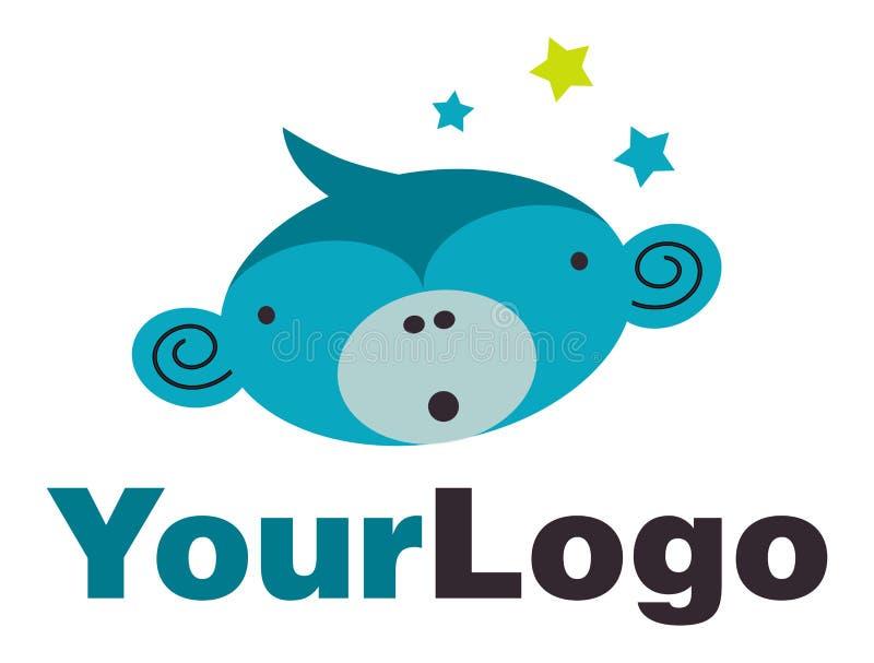 Download Surprised monkey logo stock illustration. Image of surprised - 23601974