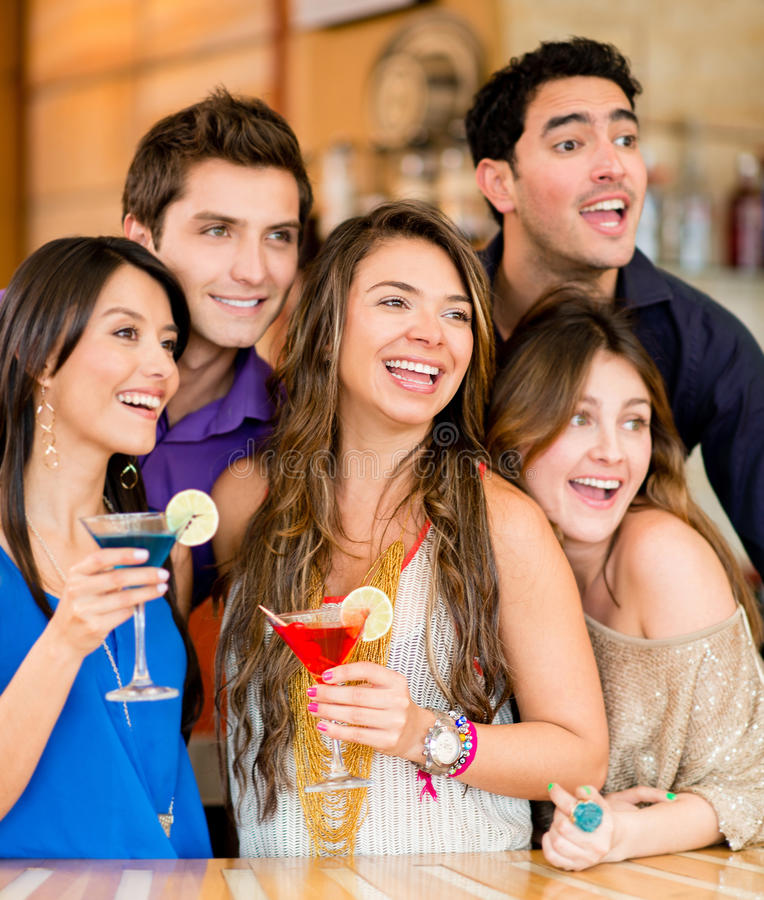 Download Surprised People At The Club Stock Image - Image: 30851707