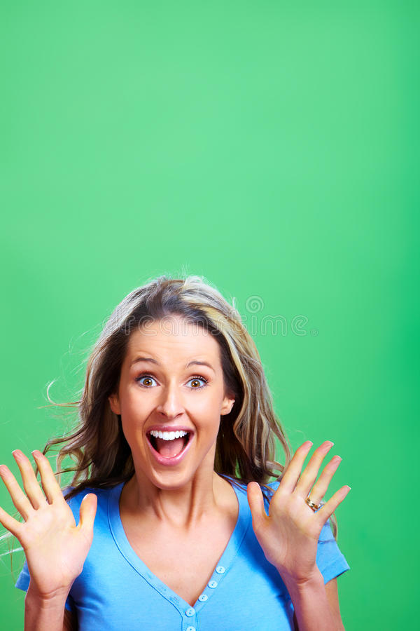 Download Surprised Woman Stock Photography - Image: 18643232