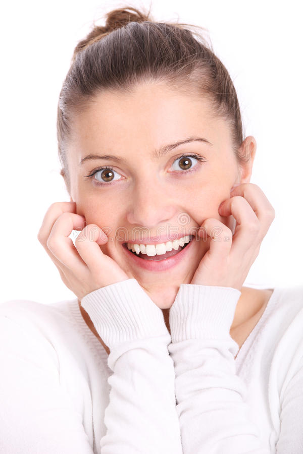 Download Surprised woman stock image. Image of attractive, beautiful - 19809383