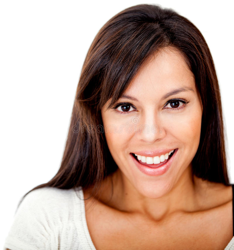 Download Surprised woman stock photo. Image of girl, hispanic - 23372046