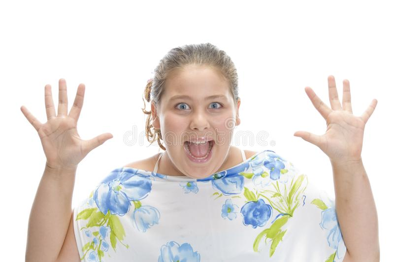 Download Surprised young girl stock photo. Image of horizontal - 6618800