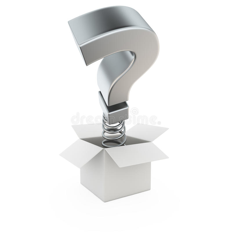 Surprising Question Stock Images