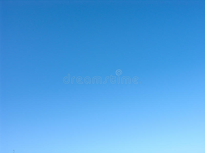 Surprisingly blue and clear sky royalty free stock images