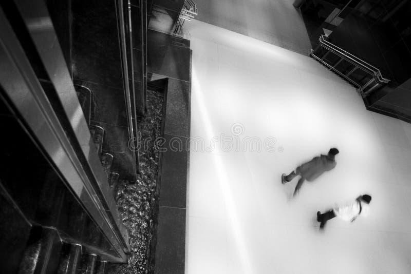 Surreal Atrium stock foto's