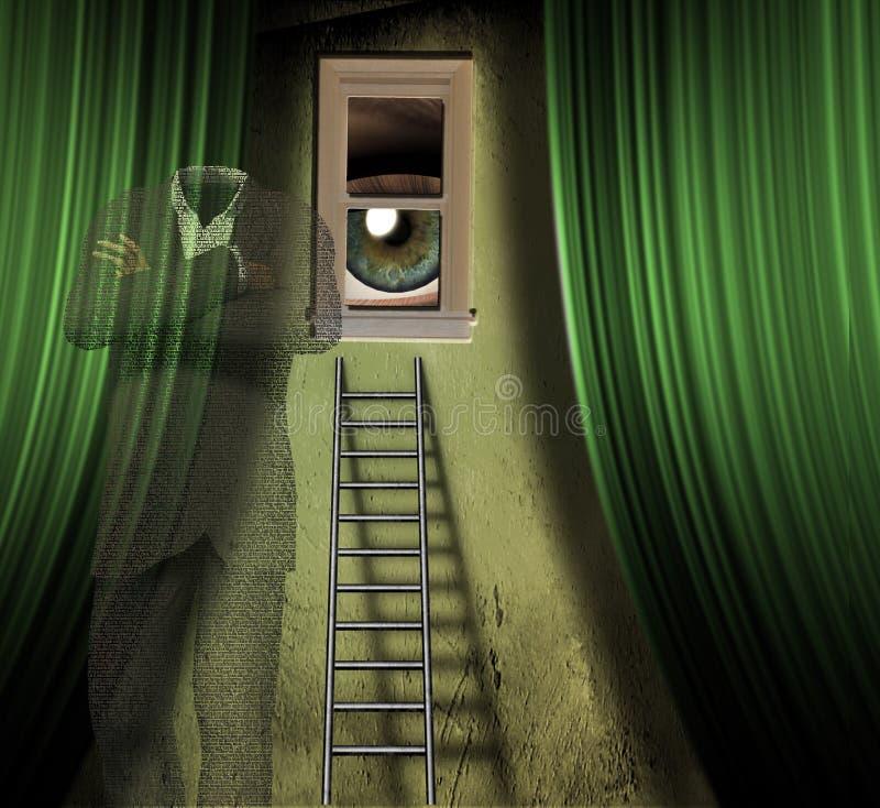 Surreal Dream stock illustration