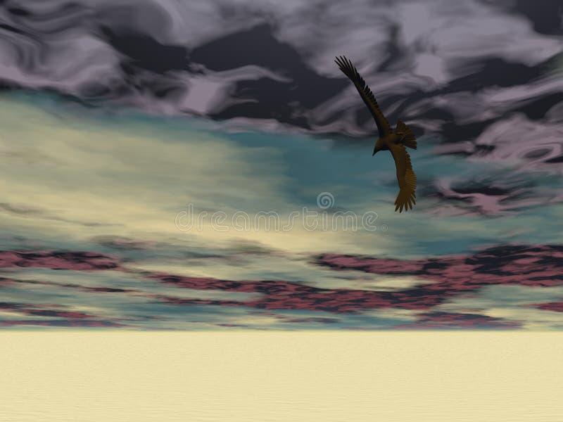 Surreal Eagle 2 stock image
