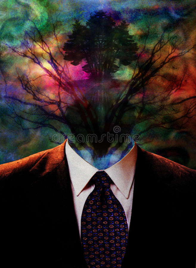 Surreal Ethereal Image royalty free illustration