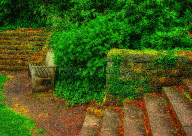 Surreal Garden royalty free stock images