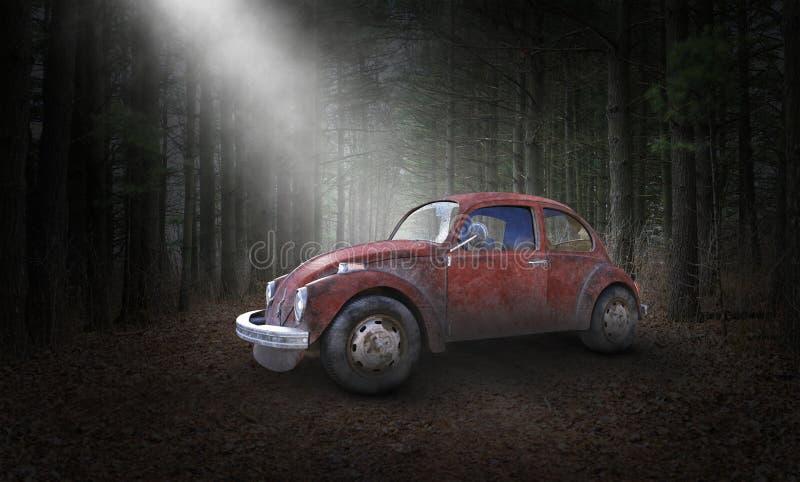 Surreal het Insectenkever van VW Volkswagen stock foto's