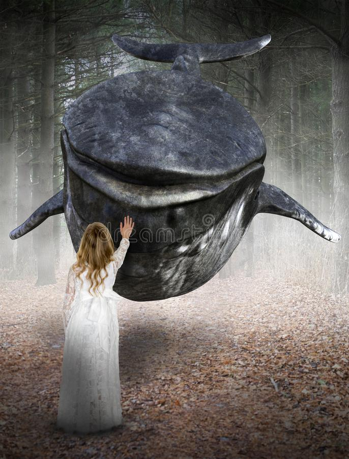 Surreal Hope, Peace, Love, Nature stock image