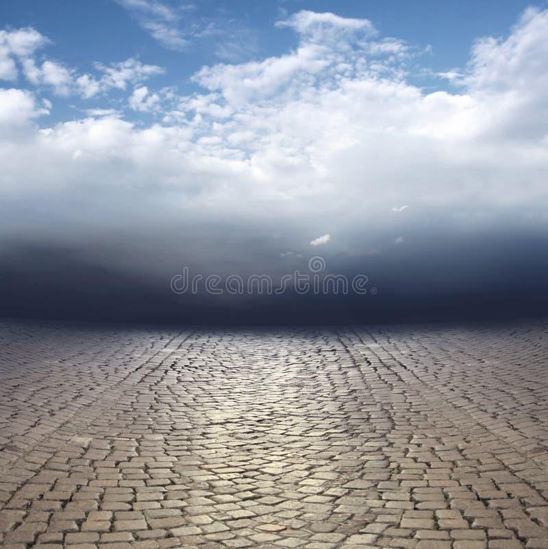 Download Surreal landscape stock illustration. Illustration of free - 33067692