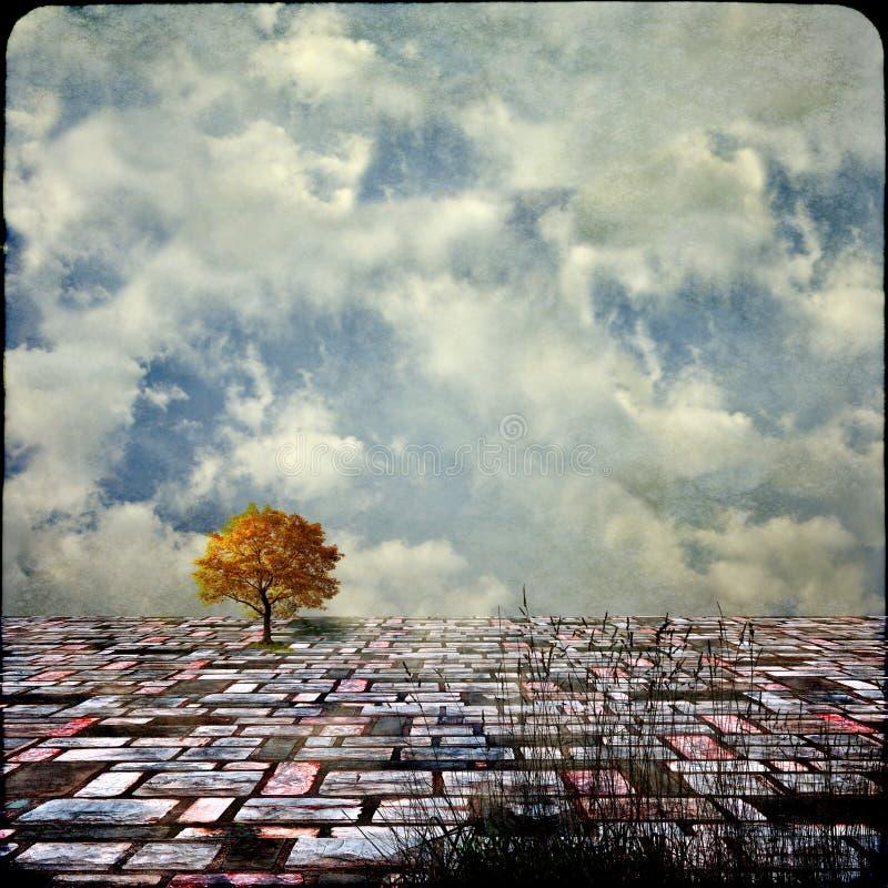 Download Surreal landscapes stock illustration. Illustration of dream - 26467228