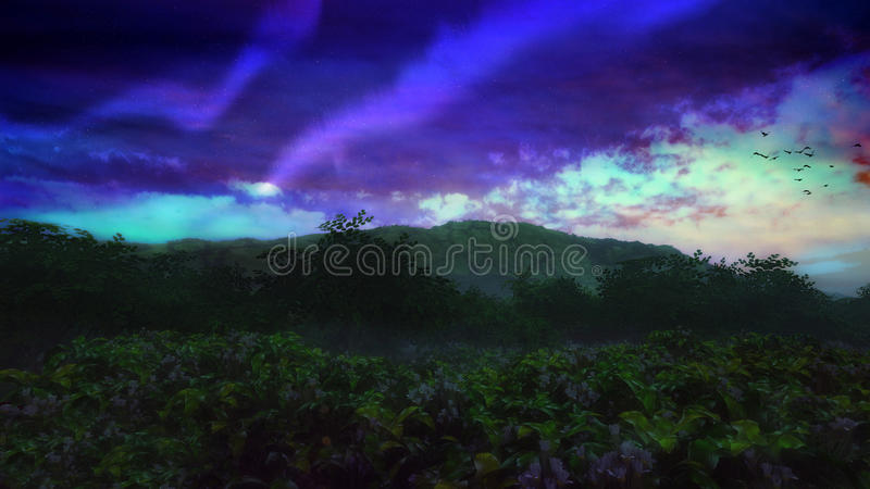 Download Surreal Natural Environment Stock Illustration - Image: 25705256