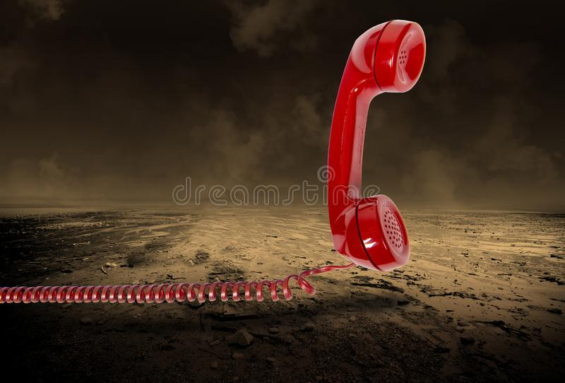 Surreal Phone Sales, Marketing, Telephone stock photo