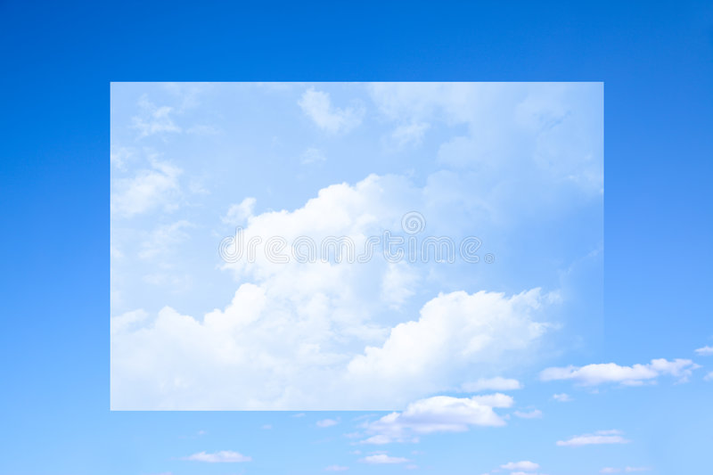 Surreal Sky Stock Image
