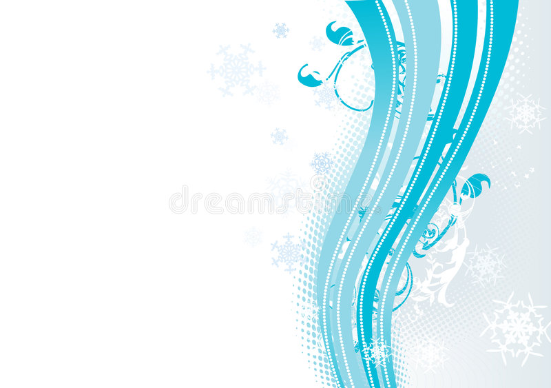 Download Surreal Snowflakes Design . Stock Vector - Image: 5938105