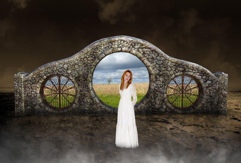 Surreal Vrede, Hoop, Liefde, Aard stock fotografie