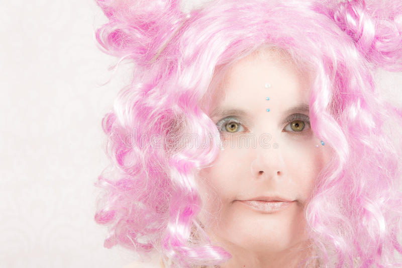 Surreale weibliche Figur lizenzfreie stockfotos