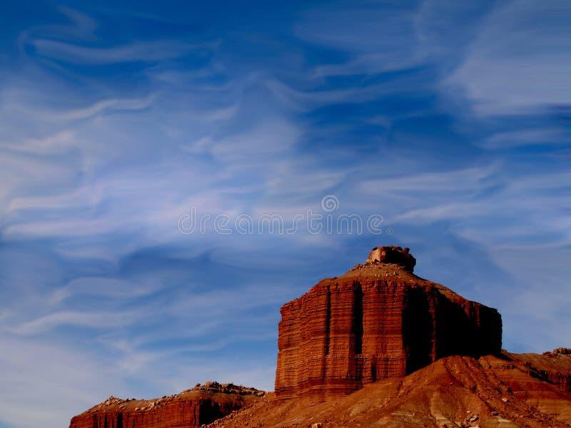 Surrealer Grand Canyon lizenzfreies stockfoto