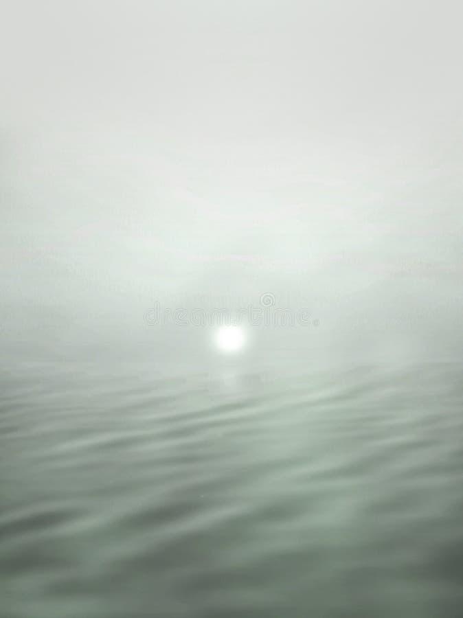 Surrealistischer Sonnenuntergang lizenzfreie stockfotos