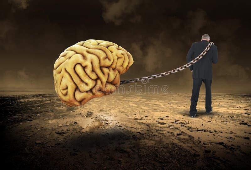 Surrealistyczna innowacja, pomysły, biznes, sprzedaże, marketing zdjęcie stock