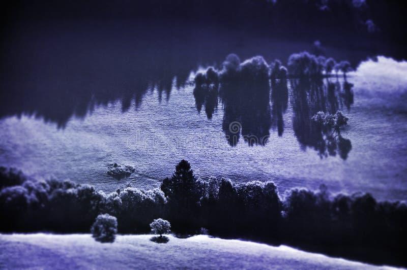 surrealistyczne krajobrazu zdjęcie royalty free
