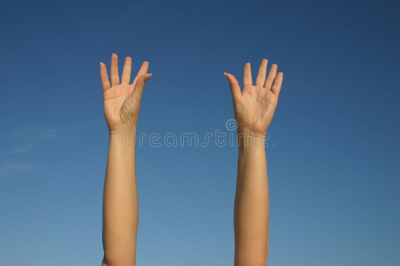 surrender stock photography