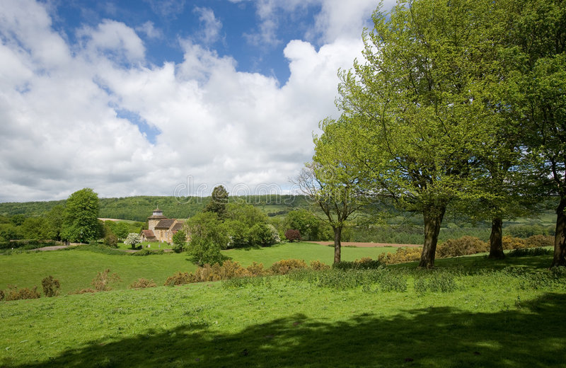 Surrey Countryside at Wotton royalty free stock images