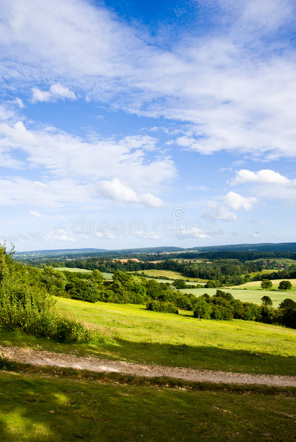 Download Surrey Hills stock image. Image of foliage, country, england - 5662109