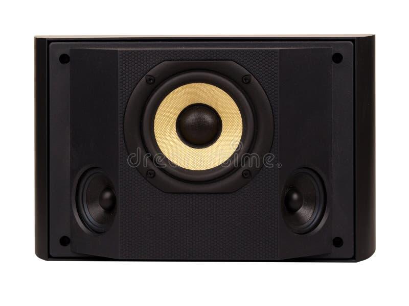 Surround sound speaker stock image