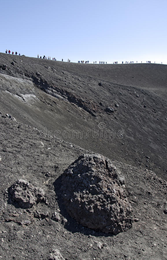 Surrounding the Crater