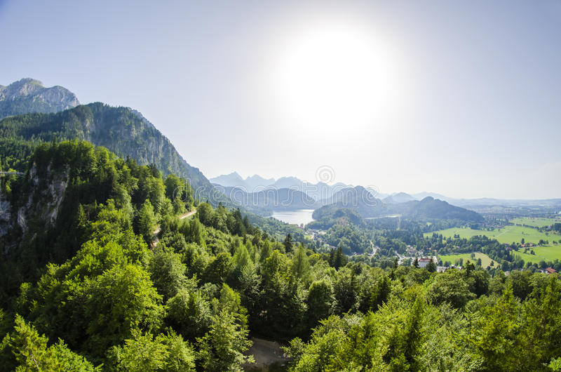 Download Surrounding Of Neuschwanstein Castle Stock Photo - Image: 34413964