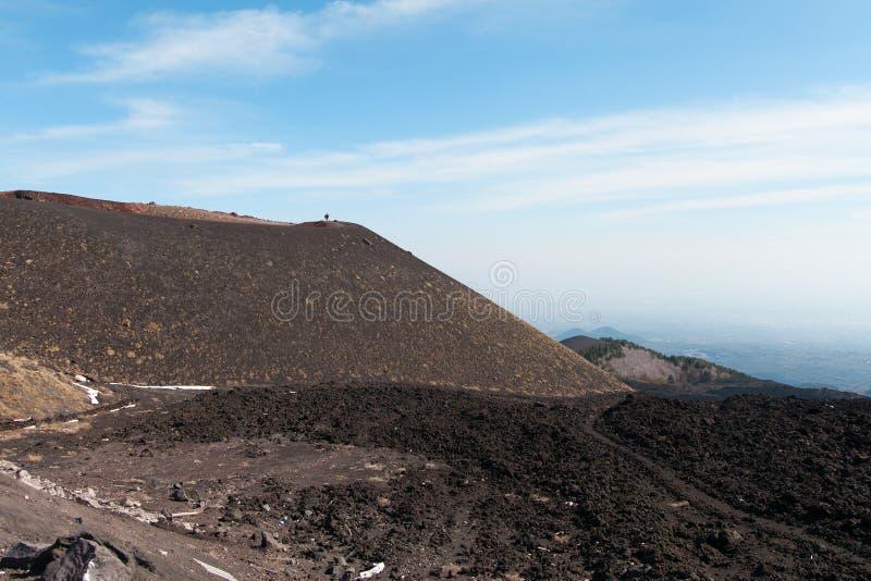 Download Surroundinngs Del Monte Etna, Sicilia Foto de archivo - Imagen de volcánico, recorrido: 41918460