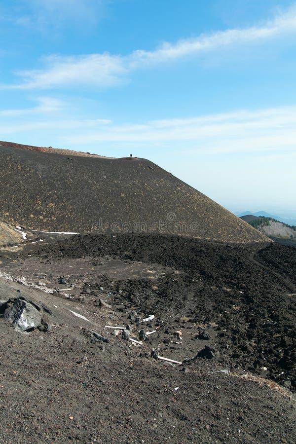 Download Surroundinngs Del Monte Etna, Sicilia Foto de archivo - Imagen de recorrido, volcán: 41918590
