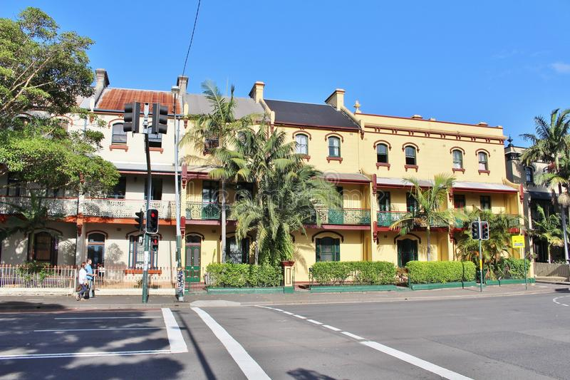 Surry Hills, Sydney foto de archivo libre de regalías