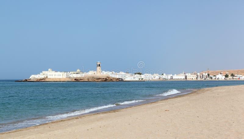 Surstrand, Oman stock afbeelding