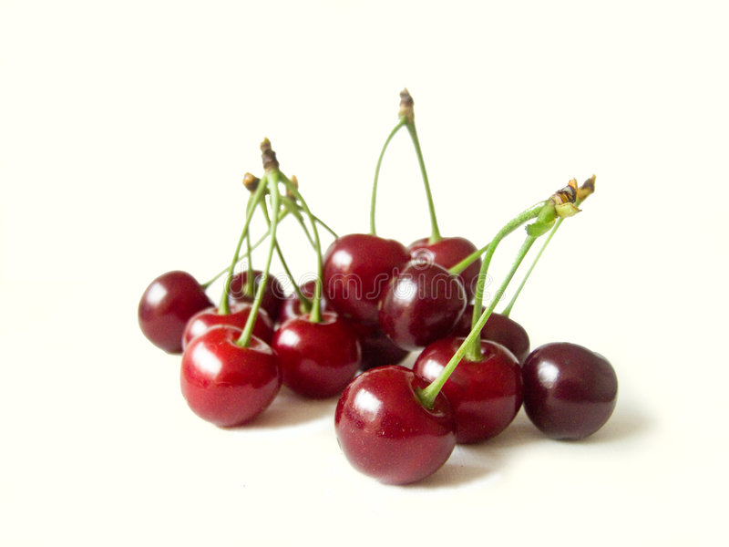 surt Cherry royaltyfri fotografi