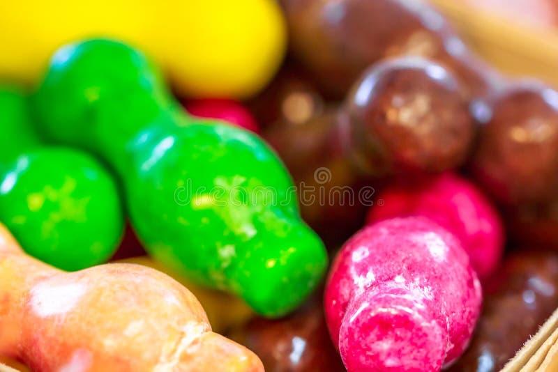 Surtido de caramelo colorido fotografía de archivo libre de regalías