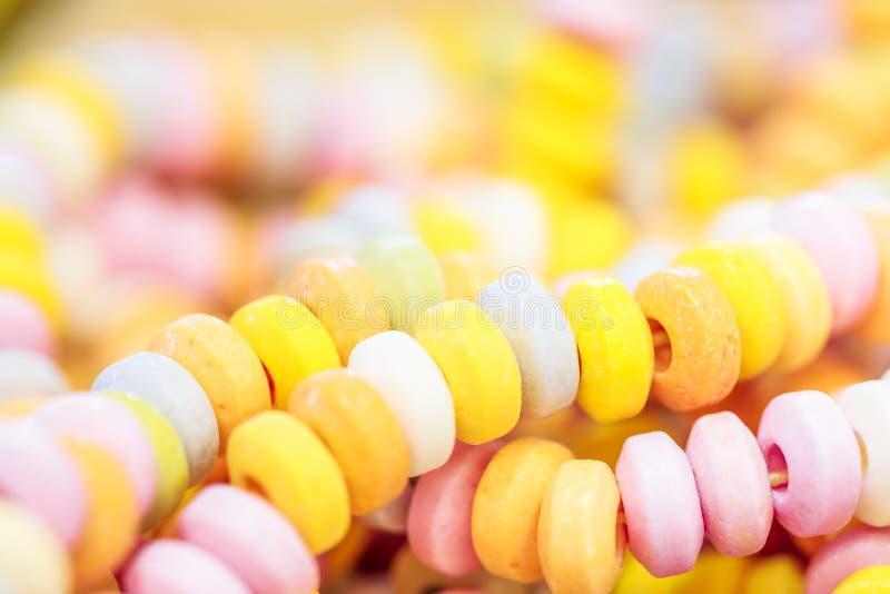 Surtido de caramelo colorido imagenes de archivo