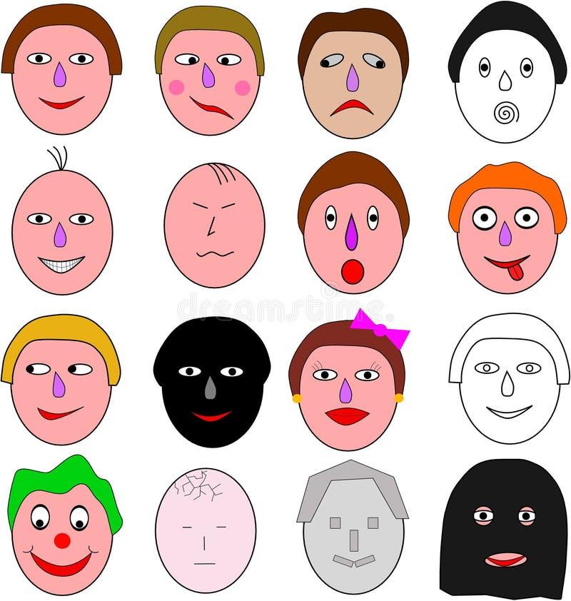 Surtido de emociones libre illustration